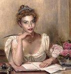 Me as a Victorian romance-writer