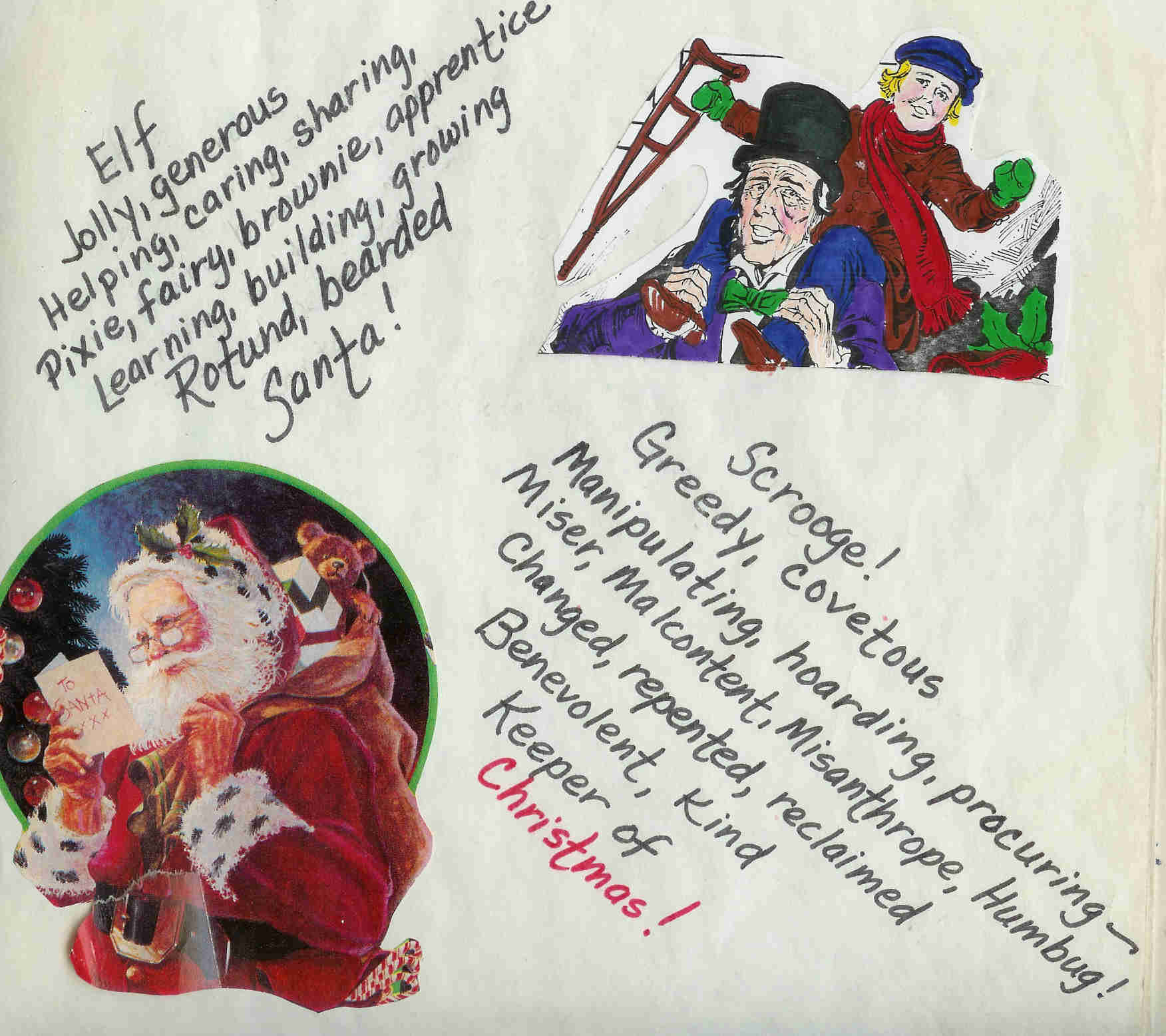 Poems About Christmas.Christmas Poems Esl Resources