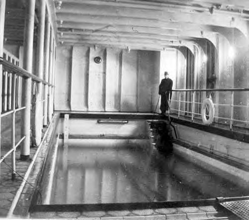 Titanic s swimming pool writing my life - Was the titanic filmed in a swimming pool ...