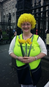 Jackie's sister Patsy came in second in the spirit contest! This cute volunteer hails from Cork! Such fun women!!!
